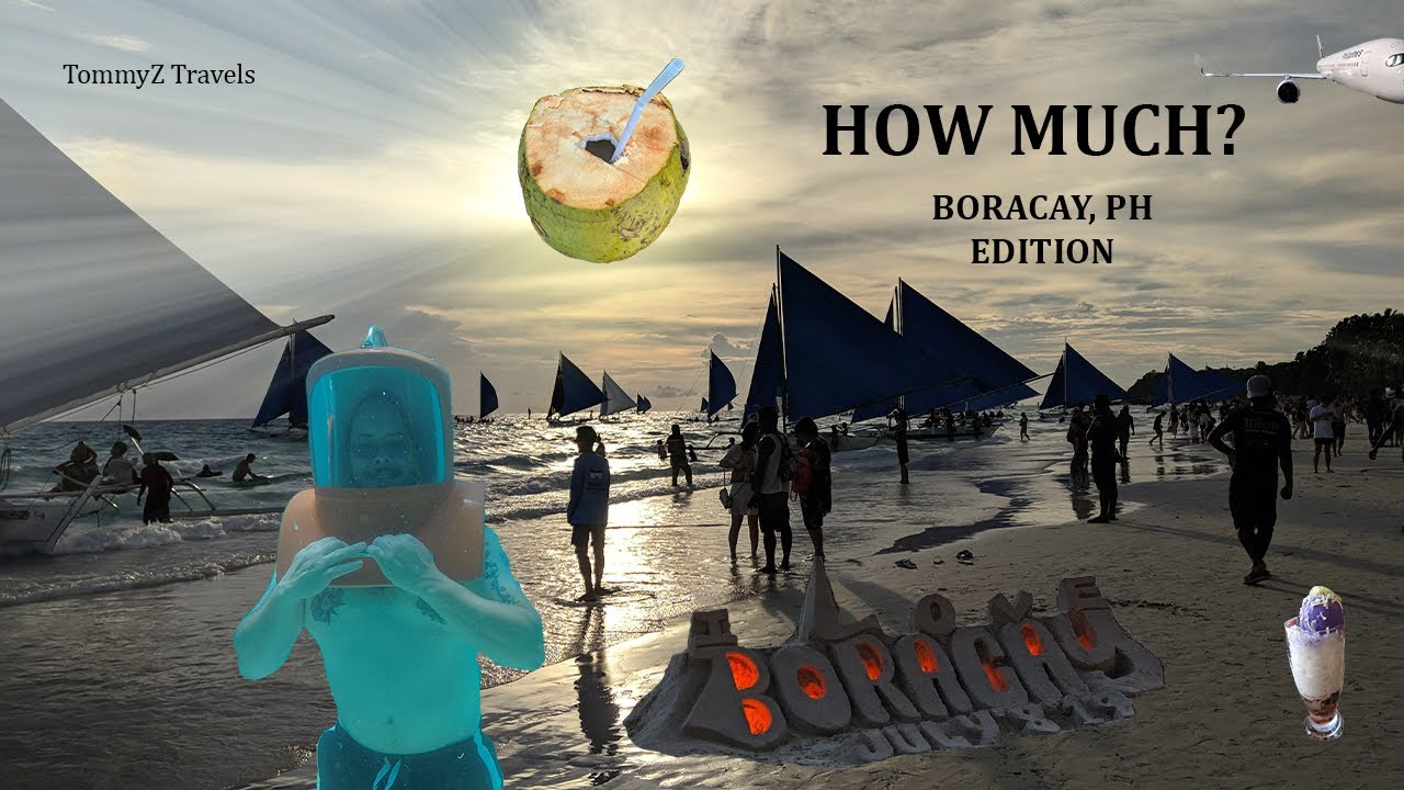 How much to travel to Boracay?