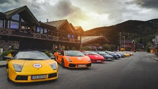 Lamborghini Club Norway Meeting - LP560-4, 5+ Diablo's and MORE!