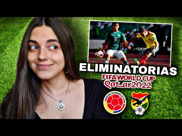 COLOMBIA vs BOLIVIA   Reacción de HINCHA URUGUAYA   Eliminatorias Qatar 2022