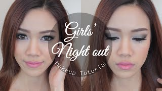 How to: แต่งหน้าไปเที่ยวกลางคืน ♡ Girls' Night out Makeup Tutorial Thumbnail