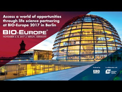 BIO-Europe® 2017: Join us in Berlin