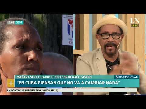 Eligen al sucesor de Castro: cómo lo viven los cubanos que viven en Argentina