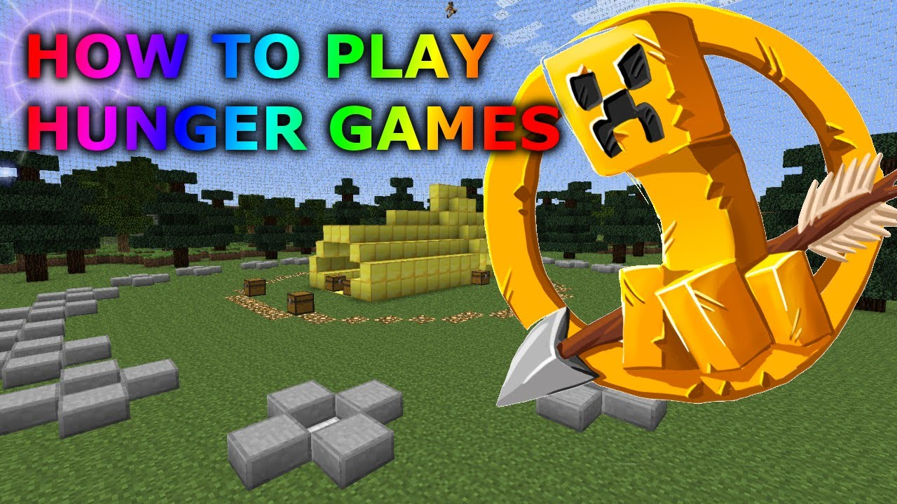 How To Join A Minecraft Hunger Games Server How To Play Minecraft Hunger Games Online Tutorial Youtube