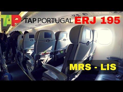 FLIGHT REPORT | TAP EMBRAER 195 | MARSEILLE - LISBON