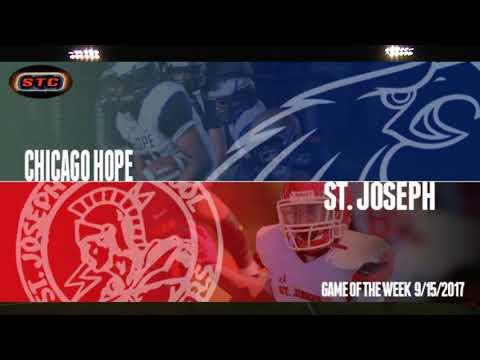 St Joseph vs Chicago Hope Academy  9-15-17 1st half