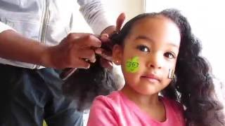 My Hair Care Routine! Mixed Curly hair! Easy Hairstyles For DADS! Vlog #189