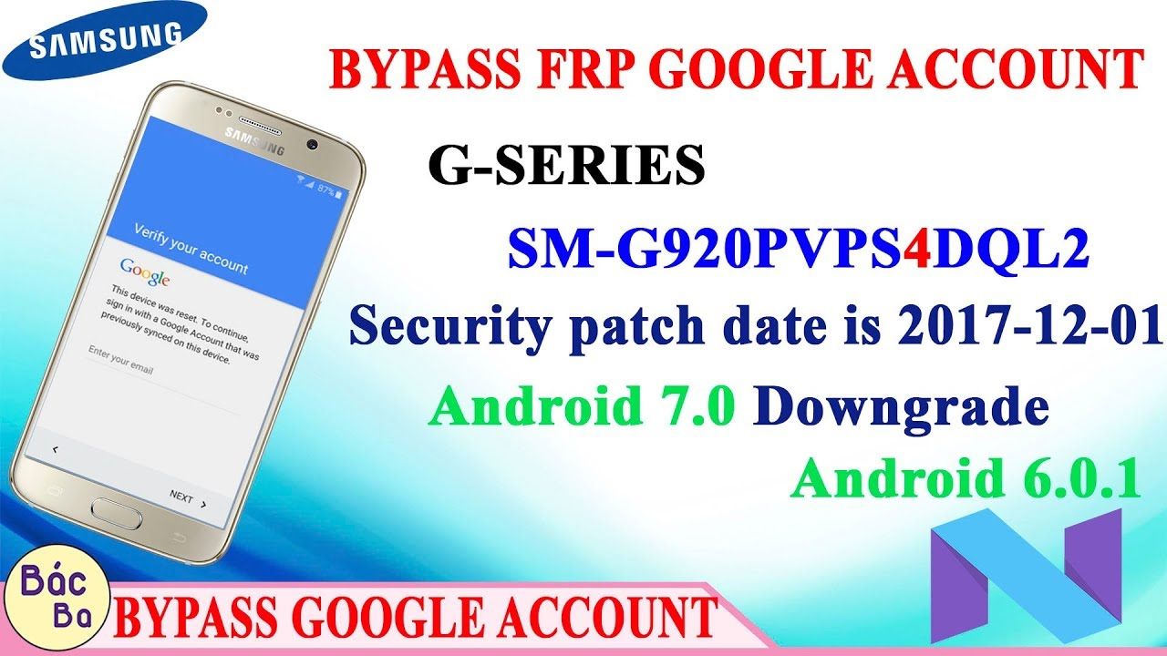 Samsung Mobile FRP Google Account Galaxy S6 (SM-G920P) New Update 2018 New  Method by GSM Fix