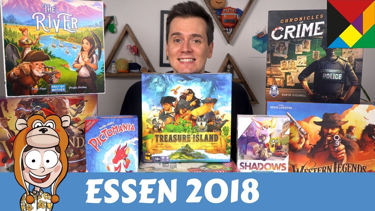 The Hottest Board Games At Essen 2018 Actualol Youtube