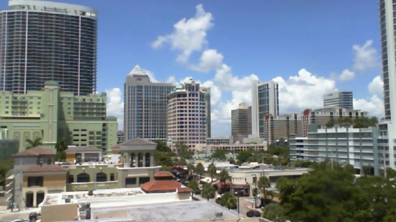 Living In Fort Lauderdale : Ft Lauderdale Florida Downtown Las Olas Live - YouTube