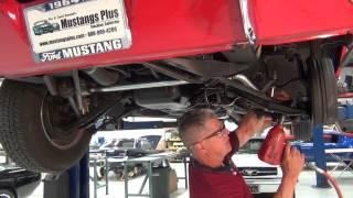 Mustang Strut Rod Installation
