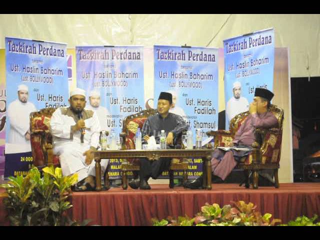USTAZ HASLIN BOOLLYWOOD MENARA CONDONG 2 Travel Video
