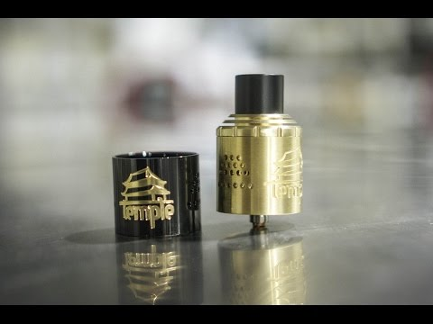 Temple RDA (30mm) from Vaperz Cloud - The Vaping Bogan