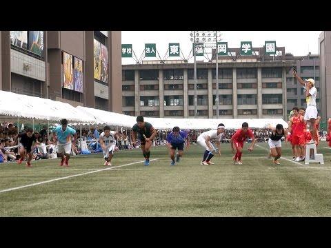 2016 東福岡高校体育祭【部活対抗リレー】ガチ組!