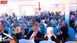 Daawo Xildhibaanada o sheegay in shacabka shabab aminaan waxa ka masuul ah dowlada somalia Live