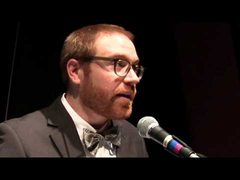 """Cory Siebe """"What I've learned from working in the ER"""" at Ignite Boulder 24"""