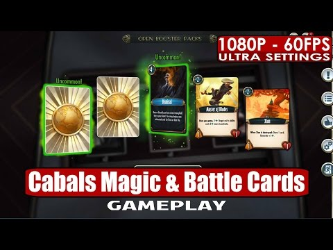 Cabals Magic & Battle Cards Gameplay PC HD [1080p/60fps]