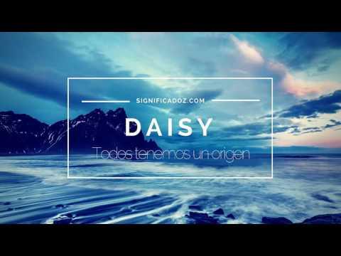 DAISY - Significado Del Nombre Daisy 🔞 ¿Que Significa?