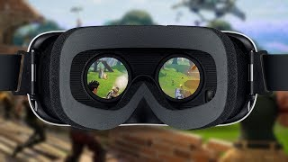THERE WILL BE VIRTUAL REALITY LENSES FOR FORTNITE!