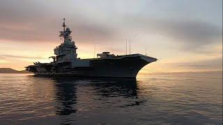 Embarquez à bord du porte-avions Charles de Gaulle, entièrement rénové et modernisé