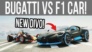 The Crew 2 - *NEW* Bugatti Divo vs F1 Car! (Hot Shots Update)