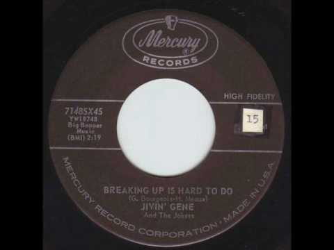 Jivin' Gene and the Jokers - Breaking Up Is Hard To Do  1958