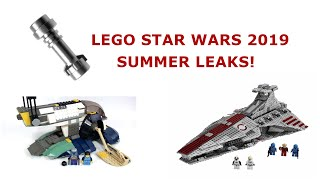 Lego Star Wars 2019 Leaks