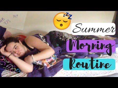 SUMMER MORNING ROUTINE 2017 | LENNON HERRON
