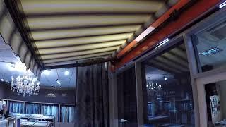 видео Кассетные вертикальные маркизы - производство и продажа в Москве и Санкт-Петербурге