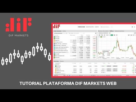 Tutorial Plataforma DIF Markets Web