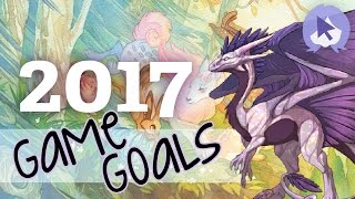 My Gaming Goals of 2017! Virtual Pets & Neopets