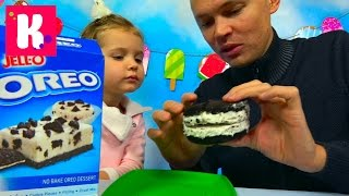 видео орео печенье