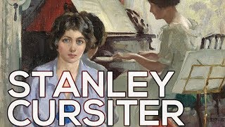 Stanley Cursiter: A collection of 83 paintings (HD)