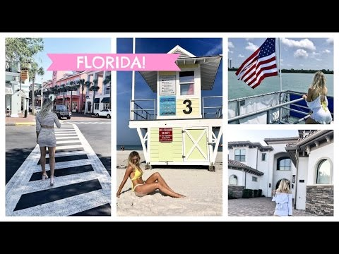 Florida Vlog! Crazy Mansion, Celebration, Kissimmee, Disney Springs, Wisteria Lane, Clearwater Beach