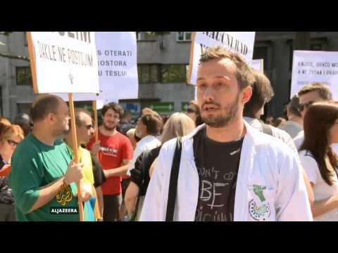 Protest beogradskih naučnika