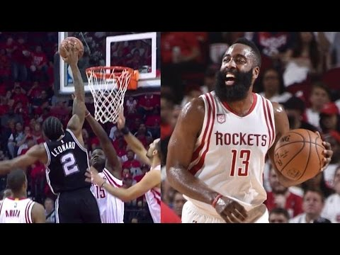 Tony Parker Out for Playoffs! Kawhi, Harden Trade Posters! Spurs Rockets Game 3