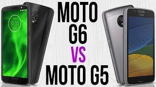 Moto G6 vs Moto G5 (Comparativo)