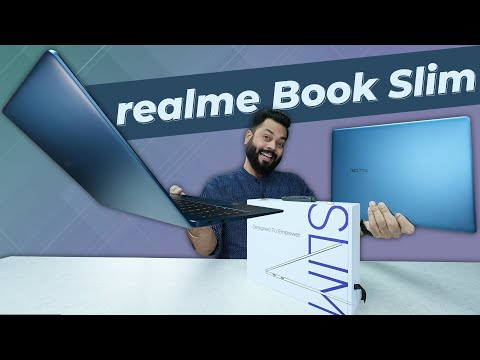 realme Book Slim Unboxing And Quick Review ⚡️ 2K Display, i3 11th Gen, 65W Charging & More