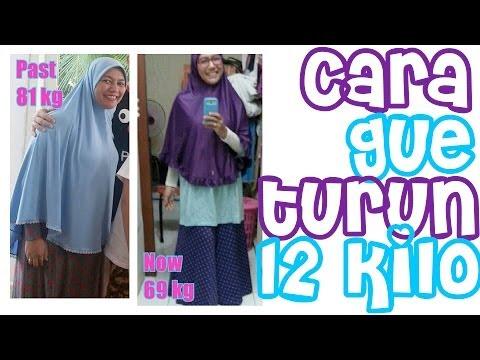 Cara Gue Kurus - Turun 12kg