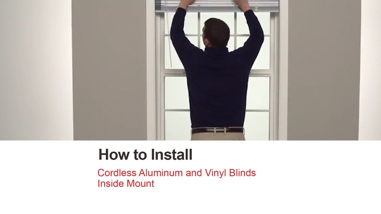 Bali Blinds How To Install Cordless Aluminum And Vinyl
