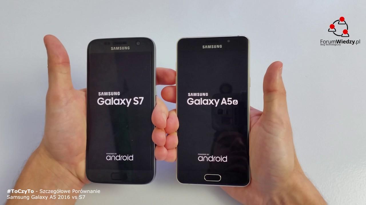 Samsung galaxy a5 vs s7