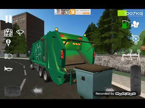 Симулятор  мусоровоза 3д