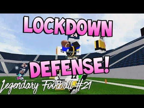 LOCKDOWN DEFENSE! [Legendary Football Funny Moments #21]