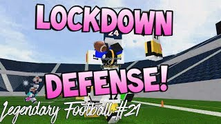 LOCKDOWN DEFENSE! [Legendary Football Funny Moments #21]