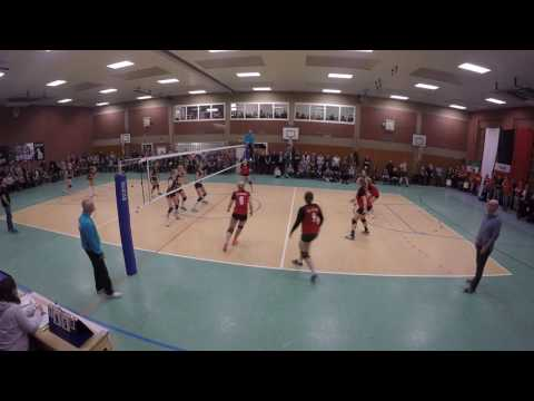 TuS Herten Team #1 vs. TV Hörde, Volleyball Oberliga, 21.01.17