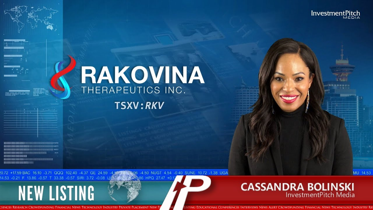 InvestmentPitch Media - New Listing: Rakovina Therapeutics Inc. (TSXV:RKV)