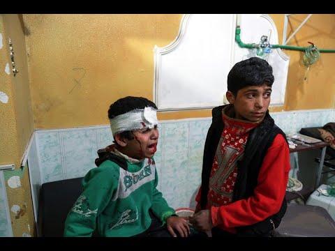 500 قتيل منذ أسبوع من القصف المتواصل على الغوطة  - نشر قبل 1 ساعة