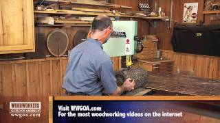 Woodworking Project Tips: Band Saw - How To Use Your Band Saw As A Saw Mill