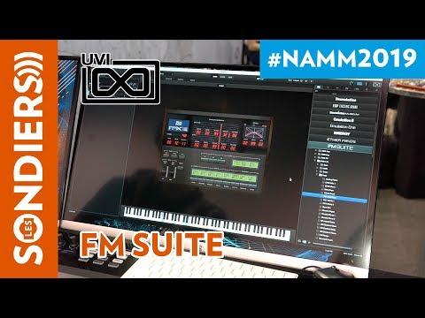 [NAMM 2019] UVI FM SUITE