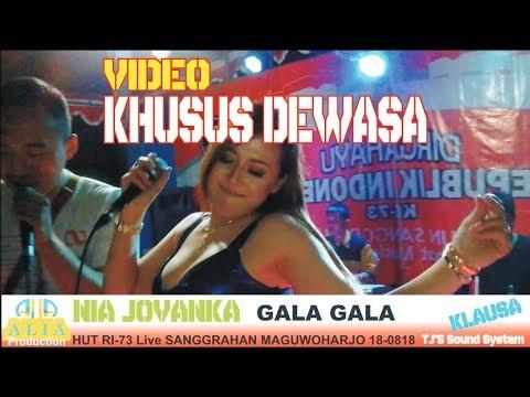 NIA JOVANKA gala gala HUT RI-73 live SANGGRAHAN MAGUWOHARJO