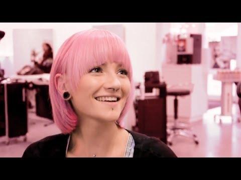 Haare rosa tonen ohne blondieren